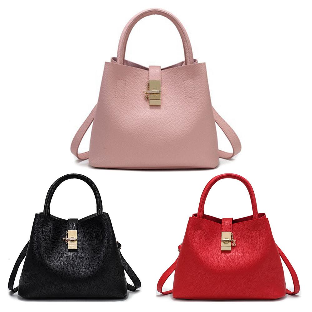 3f053c5ae094d Damen Schultertasche Umhängetasche Handtasche Shopper Leder ...
